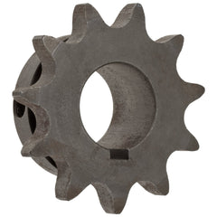 Sprocket 50B10H HEAT TREATED TYPE B,  10 TOOTH  FOR #50 ROLLER CHAIN QTY 1