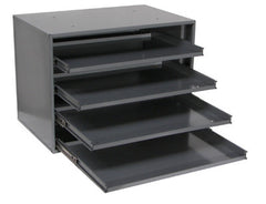 4 DRAWER LARGE SLIDE RACK FOR TRAYS AND ASSORTMENTS