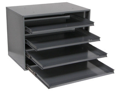 4 DRAWER SMALL SLIDE RACK FOR TRAYS AND ASSORTMENTS