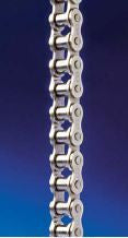 #50NP NICKEL PLATED ROLLER CHAIN 10FT ROLL, CORROSION RESISTANT