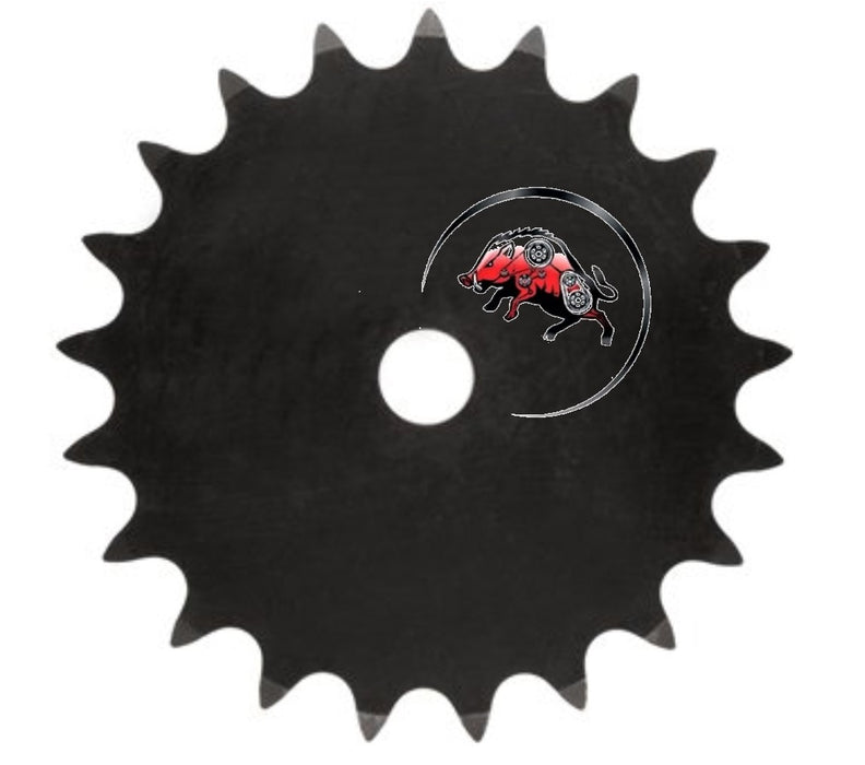 25A20H-SB Type A Plate Sprocket for #25 Roller Chain 20 Tooth
