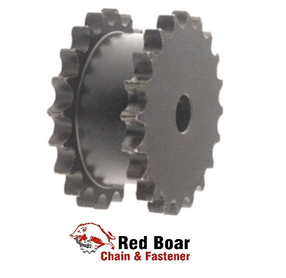 DS50A17H-SB TYPE A PLATE DOUBLE SINGLE SPROCKET 17 TEETH FOR 2-#50 ROLLER CHAIN
