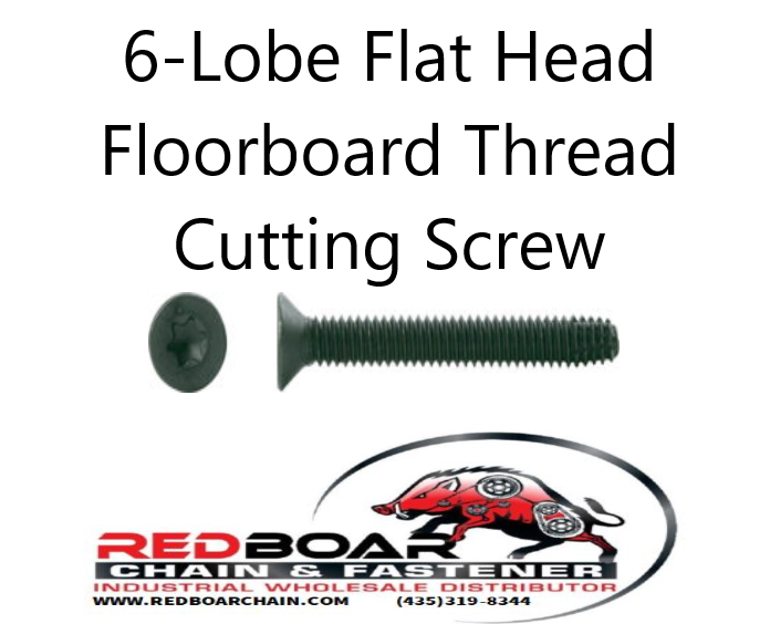 "5/16""-18 x 1 1/2"" Floorboard Thread Cutting Screws"