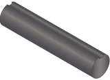 "1 3/4"" x 36"" Fully Keyed Shafting C1018 Steel"