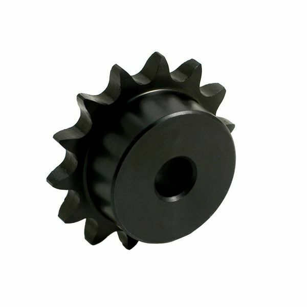 Sprocket 25B12H-PB Heat treated Type B for #25 roller chain 12 tooth
