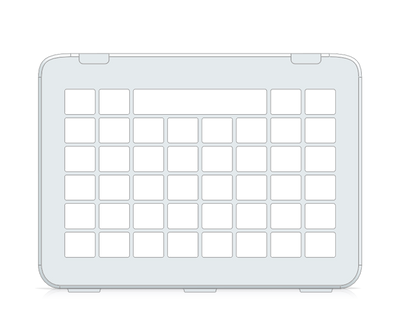 I-110 Communicator 5 8x6 Keyguard