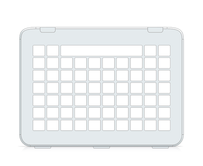 I-110 Communicator 5 10x7 Keyguard