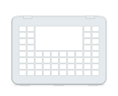 I-110 Communicator 5 10x8 Keyguard