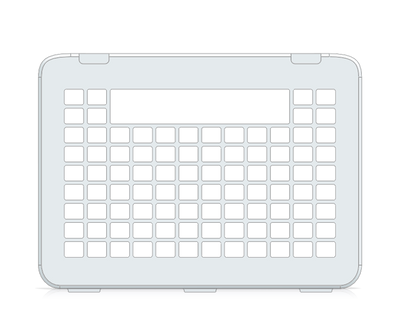 I-110 Communicator 5 12x9 Keyguard