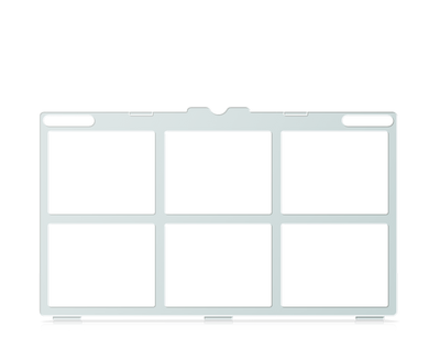 Tobii Dynavox I-16 Keyguard for Snap Core First 2x3 Vocabulary Grid with Menu