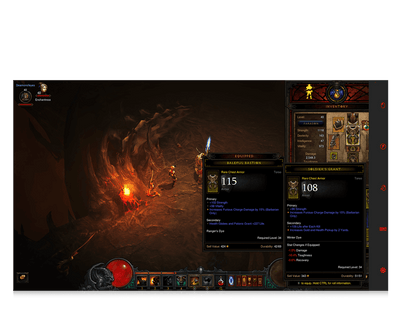 Diablo 3 for eye gaze game multi player point set up screenshot