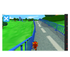 Eye Can Fly eye gaze game road racing screenshot