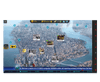 Homicide Squad game for eye gaze users, featuring a clue map of New York city.