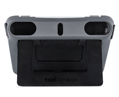 Tobii Dynavox I-110 Durable Case with Built-In Keyguard Holder with kick stand out