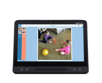 Tobii Dynavox Snap Scene featured on an I-Series device