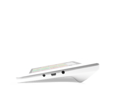 Tobii Dynavox Indi7 speech generating device side view