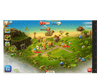 Paradise Island eye gaze game island building screenshot