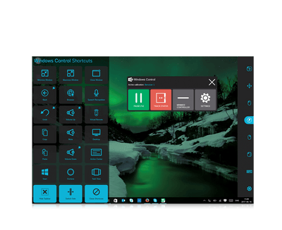 Screenshot featuring Windows Control shortcuts