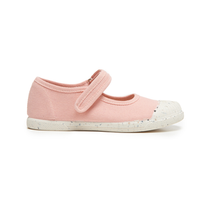Childrenchic Eco-Friendly Mary Jane Sneakers in Salmon