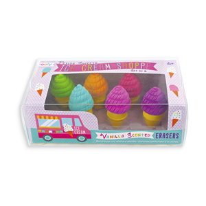 Ooly Ice Cream Shoppe Scented Erasers
