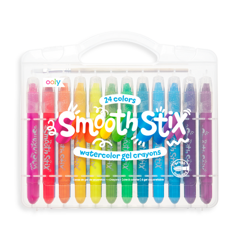 Only Smooth Stix Water Gel Crayons