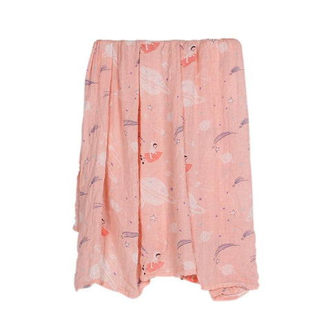 Pink Space Swaddle