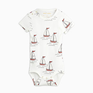 Mini Rodini Sailboat Short Sleeve Body