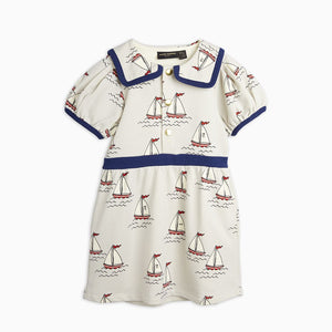 Mini Rodini Sailing Boat Puff Dress