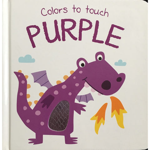 Colors to Touch Books - Available in several colors