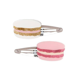 Lilies & Roses Macaron Snap Clips Set