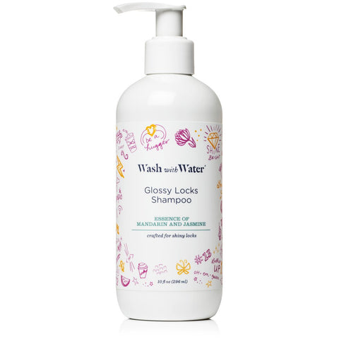 Wash with Water Glossy Locks Shampoo