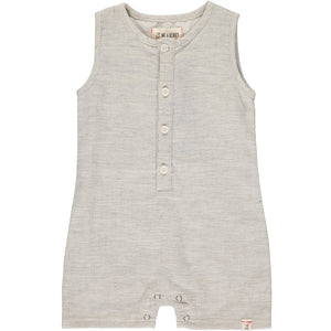 Me & Henry Pale Grey Playsuit
