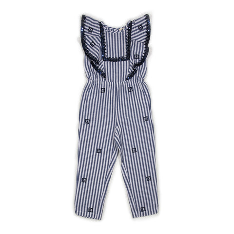 EGG Stripe Embroidered Abella Jumpsuit