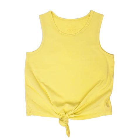 EGG New York Knot Tank in Lime