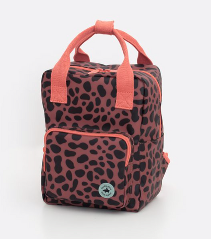 Studio Ditte Small Jaguar Print Backpack