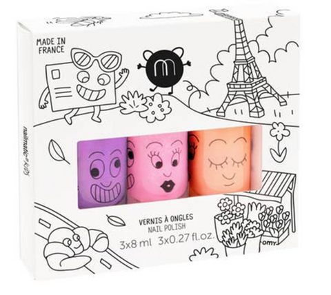 Nailmatic Nail Polish- Paris 3 pc