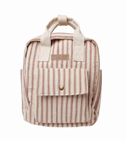 Rylee + Cru Striped Mini Backpack