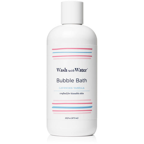 Wash with Water Bubble Bath