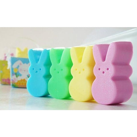 Peeps Bunny Soap Bars- 3 pack