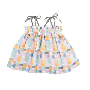 Miki Miette - Lolita Tie Top Watercolors