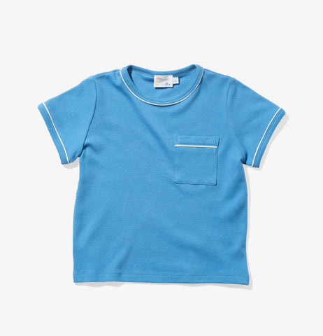 Oso & Me Piped T-shirt (Blue)