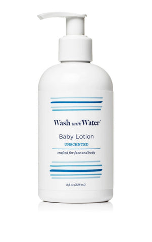 Wash With Water Unscented Baby Lotion