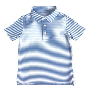 Harlestons Little Wentworth Polo in Carolina Sky