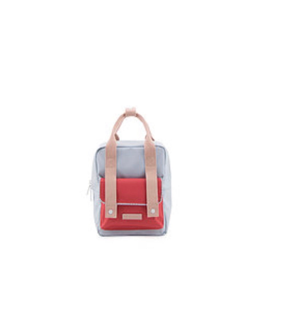 Sticky Lemon Small Backpack  (Blue/Red)