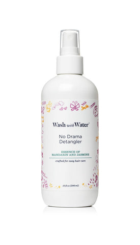 Wash with Water No Drama Detangler
