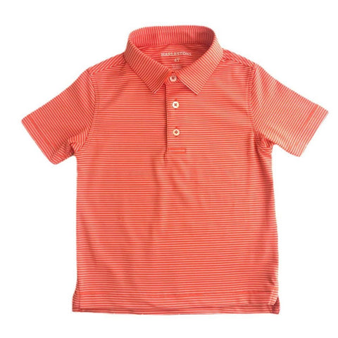 Harlestons Little Riggs Polo in Orange