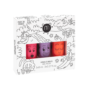 Nailmatic Jungle 3 Nail Polish Set
