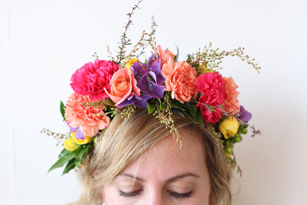 Abundant Flower Crown
