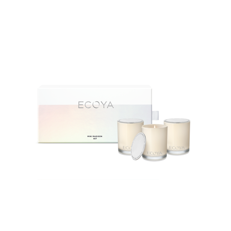 Ecoya Mini Madison Gift Set - Mixed Fragrance