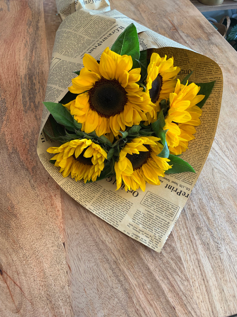 Pretty Sunflower Bunch